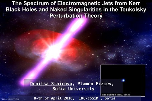 The Spectrum of Electromagnetic Jets from Kerr Black Holes and ...