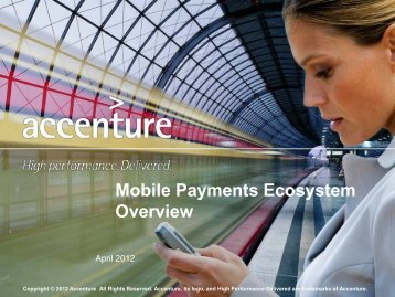 Mobile Payments Ecosystem Overview