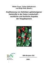 BfN -Skripten 262 - Bundesamt für Naturschutz
