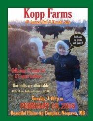 FEBRUARY 19, 2008 - Transcon Livestock Corporation