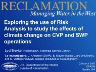 Exploring the use of Risk Analysis to study the effects of climate ...