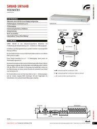 SM84B-SM164B - Videotec