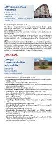 Zinātnieku nakts 2010 buklets - Latvijas Zinātņu Akadēmija - Page 7