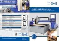 Prospekt ZINSER 2025 / ZINSER 2026 (PDF 548 KB)