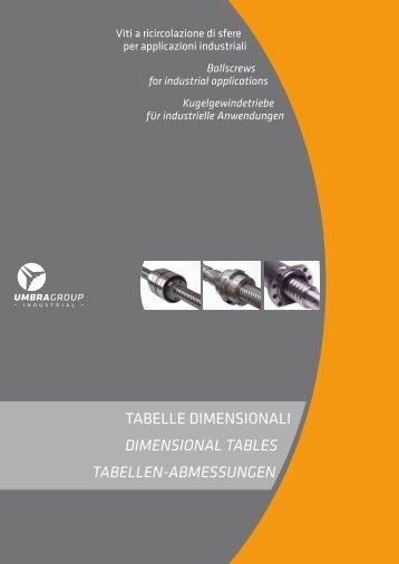 scarica le tabelle dimensionali