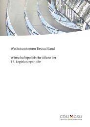 Bilanz Wirtschaft - Eckhardt Rehberg
