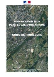 modification d'un plan local d'urbanisme guide de ... - Webissimo