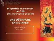 document de présentation du programme - Asstsas