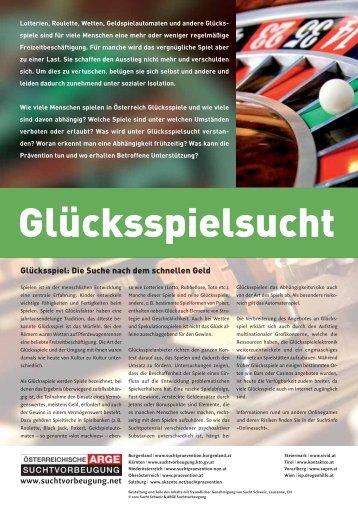 Glücksspielsucht - kontakt+co Suchtprävention Jugendrotkreuz