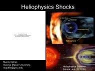 The Varieties of Shocks