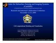 Conti matlab - Center for Subsurface Sensing & Imaging Systems ...
