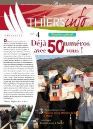 Thiers Info n°50 février 2012