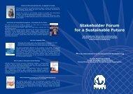 Membership Brochure.pdf - Stakeholder Forum