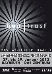 Die 13? Ein Lichtblick! - Das Bayreuther Filmfest