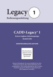 CADD-Legacy® 1 - internetMED