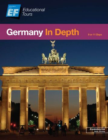 Germany In Depth 9 or 11 Days - EF Educational Tours