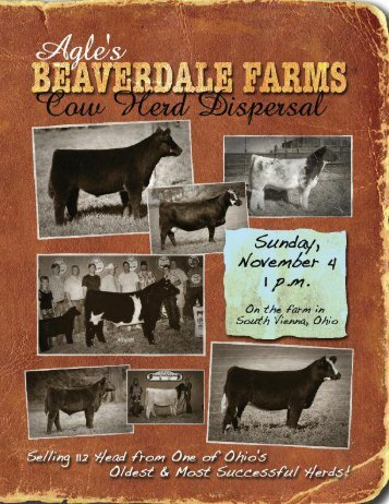 They All Sell November 4th! - PrimeTIME AgriMarketing