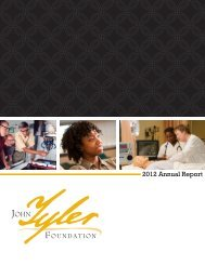 2012 Annual Report - John Tyler Community College