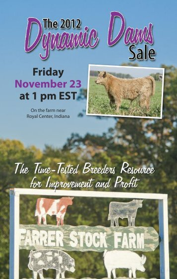 Friday November 23 at 1 pm EST - PrimeTIME AgriMarketing