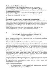 Grüne Gentechnik und Bienen - Landesverband Bayerischer Imker eV