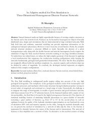 An Adaptive method for Flow Simulation in Three-Dimensional ...