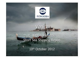 Short Sea Market Report - FONASBA