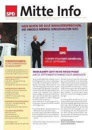 MitteInfo Juli.indd - SPD Hamburg-Mitte