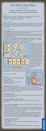 Anleitung: Die Tore der Welt - Das Kartenspiel - Kosmos