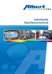 Individuelle Oberflächentechnik - Albert Fahrzeugbau GmbH