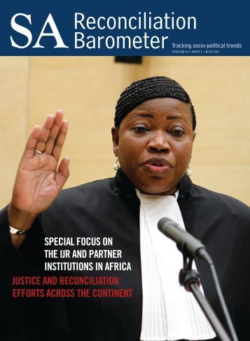SARB Newsletter, Volume 10 Issue 2 - Institute for Justice and ...