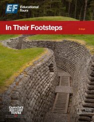 In Their Footsteps - EF Educational Tours
