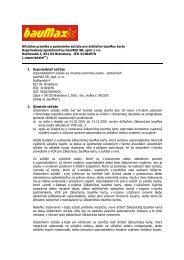 Oficiálne pravidlá a podmienky súťaže pre držiteľov bauMax karty ...