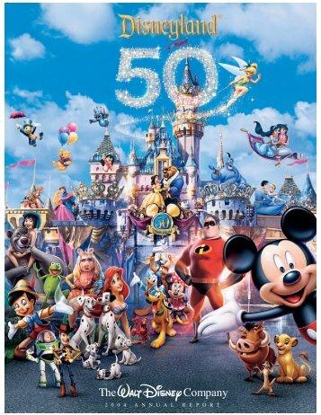 The Company - The Walt Disney Company