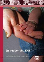 Jahresbericht 2008 - SkF eV im Kreis Warendorf