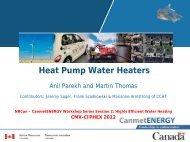 Heat Pump Water Heaters - CMX·CIPHEX Show