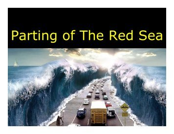 Parting of The Red Sea - Congregation Yeshuat Yisrael