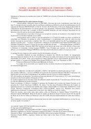 COMITE TARBES -SEMLH - Tarbes-Infos