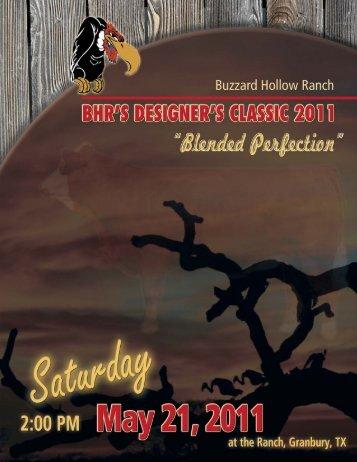 2011 BHR - Buzzard Hollow Ranch