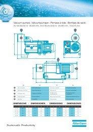 Vacuum pumps - Vakuumpumpen - Pompes à vide ... - Atlas Copco