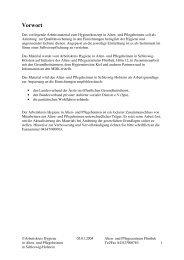 Musterhygieneplan Alten- und Pflegeheim - Kreis Pinneberg