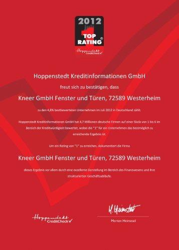 Überzeugen Sie sich selbst - Kneer GmbH