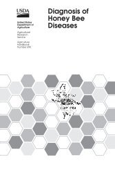 Diagnosis of Honey Bee Diseases - Agricultural Research Service