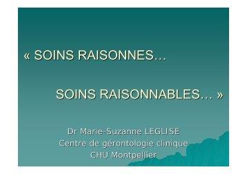 SOINS RAISONNES - sofomec