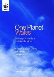 One Planet Wales - WWF UK
