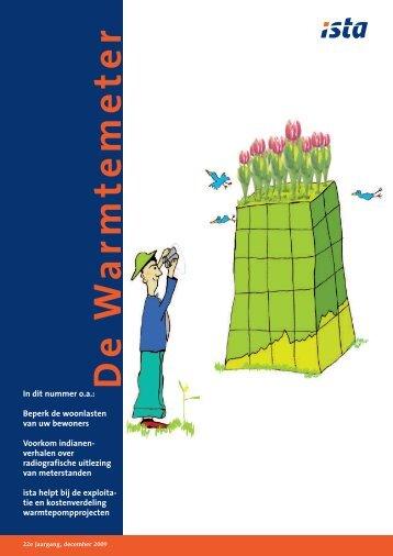 De Warmtemeter december 2009 - ista International