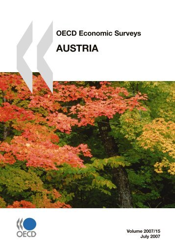 OECD Economic Surveys – Austria 2007 - Für faire Steuern!