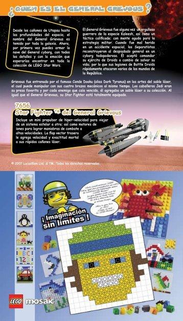 Quien es el General Grievous 7656 Star Fighter TM del ... - Lego