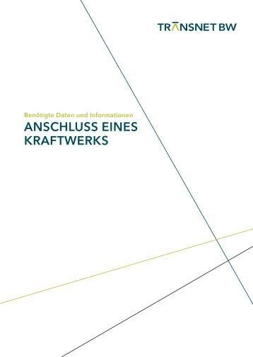 ANSCHLUSS EINES KRAFTWERKS - TransnetBW GmbH | Startseite