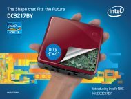 Intel DC3217BY Product Brief