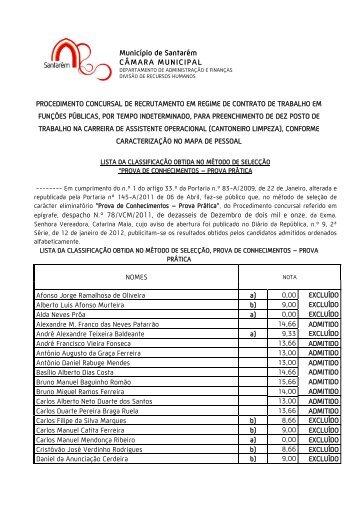 Exmº. Sr. - Câmara Municipal de Santarém